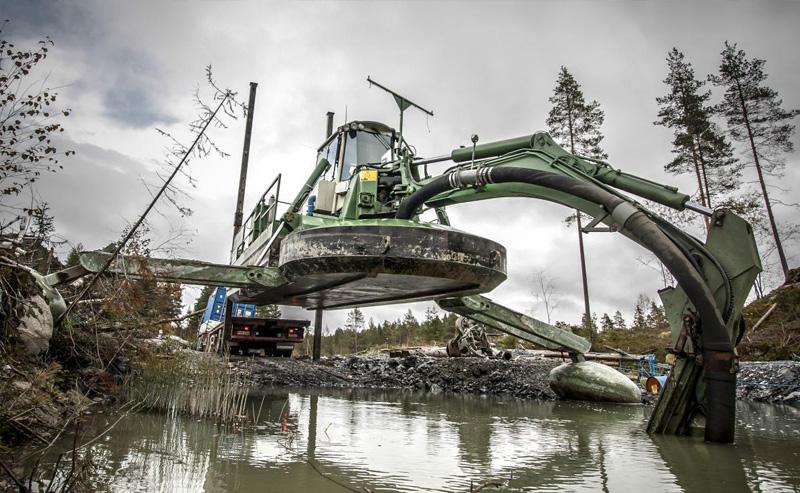 AQUAMEC WATERMASTER - čištění dna vodních nádrží a vodních ploch