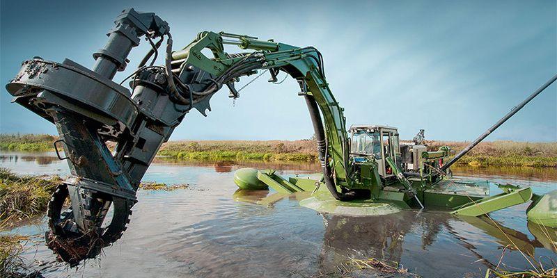 AQUAMEC WATERMASTER - čištění dna vodních toků a nádrží