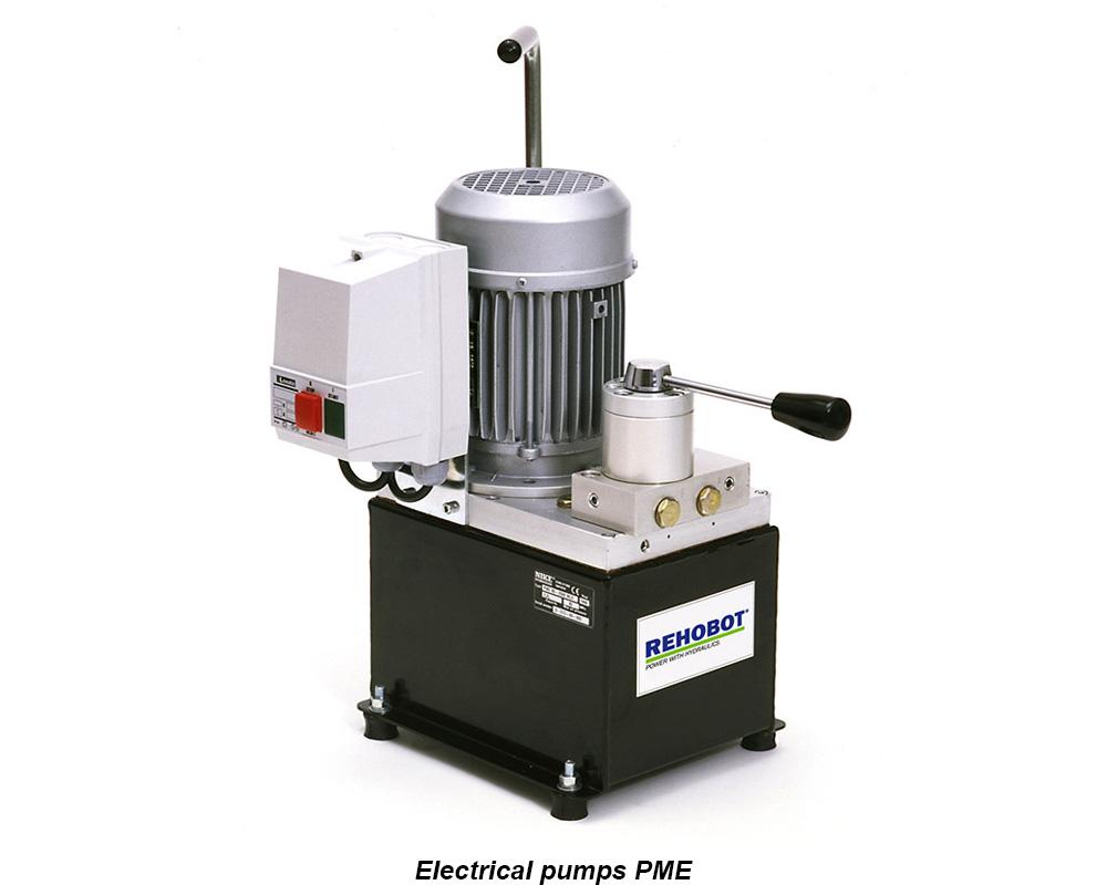 REHOBOT - elektrické pumpy