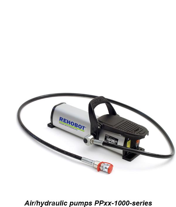REHOBOT - průmyslová hydraulická pumpa