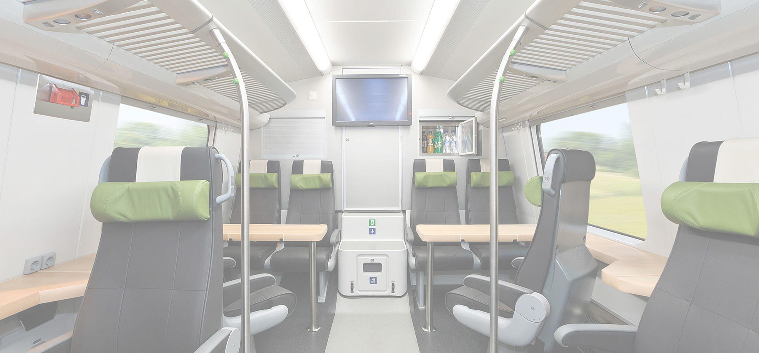 TEKNOWARE - interiérové osvětlení pro vozidla hromadné přepravy