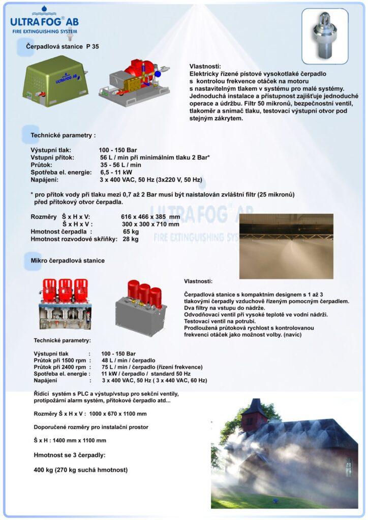 ULTRA FOG hasební technika - efektivní hasební technika - ukázka hašení